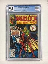 Warlock and the Infinity Watch #1 CGC 9.8 NM/M white Marvel comics 1992