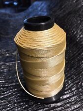 Braided Poly Thread Tan Size 346 Bonded 1/4 lb. for leather, upholstery and more