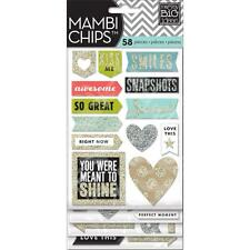 Me & My Big Ideas Chipboard Value Pack-love This