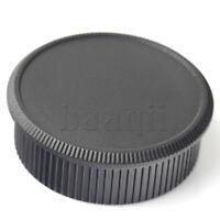 Set Plastic Rear Lens Body Cap Cover for M39 39mm Screw Mount Camera lens MA