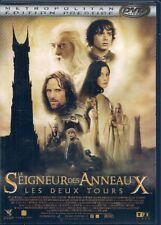 2 DVDS ZONE 2--LE SEIGNEUR DES ANNEAUX / LES DEUX TOURS--PETER JACKSON