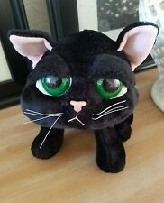 Russ Lil Peepers Shadow Black Kitty Cat Kitten Plush Stuffed Animal Big Eyes