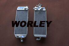 Aluminum radiator for SUZUKI RM125 W/X/Y 2-stroke 1998 1999 2000 98 99 00