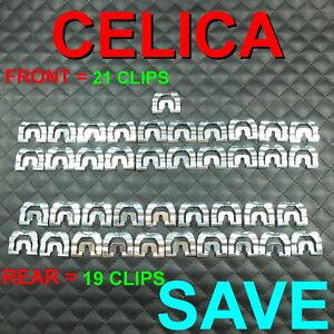 CELICA TA22 TA23 RA23  RA20 RA21 TA20 RA22 RA24 TA35 WINDSHIELD 40 CLIP FIT