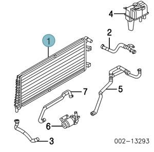 (1) ReadyAire Radiator 2005-2012 Ford Escape 2006-2011 Mercury Mariner Q9449