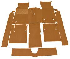 Cognac velours carpet kit for Fiat 124 Sport Coupe 1967-1972 Carpet