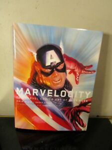 Marvelocity - Signed By Alex Ross and Chip Kidd~
