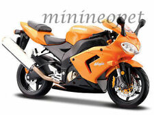 MAISTO 31105 KAWASAKI NINJA ZX-10R ZX10R BIKE MOTORCYCLE 1/12 ORANGE