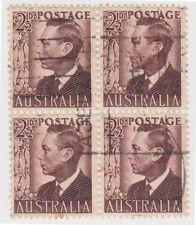 Brown Australian Pre-Decimal Stamp Blocks, Sets & Sheets
