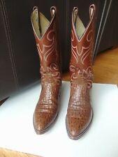 Men's Dan Post 8D alligator/ crocodiile cowboy boots