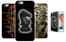 Chess Dark Horse Rubber Plastic Phone Cover Case For Apple Iphone 6 7 8 8 X 12