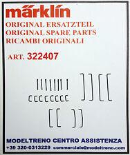 MARKLIN 322407 SET CORRIMANI ASTE FARI - SORT. HANDSTANGEN  37331