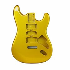 Eden Premier Series DIY Alder Strat Body HSH Guitar Metallic Gold