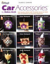 Car Accessories, Organizer Tissue Air Fresheners plastic canvas pattern book NEW