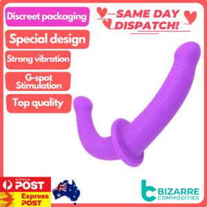 Strap-on Dildo Flexible Double Penetration Dildos Two Head Ended Penis Sex Toys