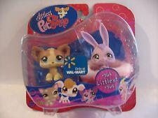 Littlest Pet Shop VERY RARE #764 Rabbit & #765 Chihuahua, NIP