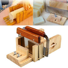 3pcs Professional Adjustable Handmade Wood Soap Mold Cutter Slicer Tools Set