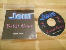 CD Pop Jem - Foolish Games / Dance Version (5 Song) MCD  STREET BEAT