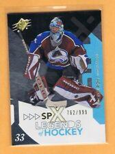 2010-11 SPx Legends of Hockey Patrick Roy 762/999 Avalanche #104