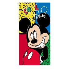Micky Mouse Oficial Licenciado Niños Niños Algodón Toalla de playa - 140 X 70 Cm
