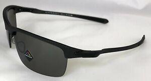 Oakley Carbon Blade - Matte Carbon Fibre/Prizm Black Polarized Lens - OO9174-09