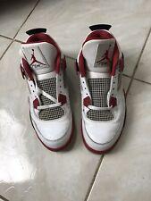 Jordan 4 Fire Red Size 10