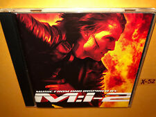 MISSION IMPOSSIBLE 2 japan CD hans zimmer METALLICA foo fighters BRIAN MAY bonus
