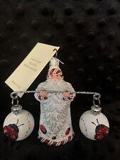 "Patricia Breen 2007 ""Balance� Ladybugs Santa"