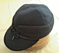 Vtg 1930s Style RAILROAD ENGINEER WABASH CLOTH WORK BALL CAP MINT ... 2d0fbf724ccb