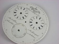 Antique original 55mm captain's Patent Timekeeper dial made for M.J.Tobias & Co.