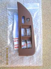 95-97 TOYOTA AVALON DRIVER MASTER POWER WINDOW SWITCH BEZEL TRIM BROWN TRIM NEW