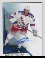 2014-15 SP Game Used Autographs Blue Anthony Duclair Auto #190