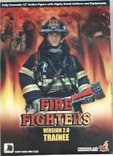 """HOT TOYS FIRE FIGHTER 2.0 TRAINEE 12"""" NEW 1/6"""