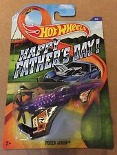 Hot Wheels 2015 Happy Father's Day POISON ARROW - Super Fast Shipping - 15C