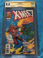 X-Men #94 - Marvel - CGC SS 8.0 - Signed by Alan Davis, Mark Farmer