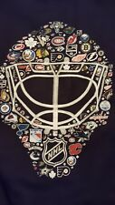 NHL New York all team Goalie mask hoodie (reebok)