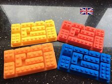 Reduced To Clear Brick  Shape Building Blocks Mould