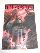 Transformers Till All Are One Volume 2 IDW Comics (Paperback)< 9781631409240
