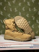 """Size 7.5 - Nike SFB Field 2 8"""" Boots Coyote Military Tactical Police AQ1202-900"""