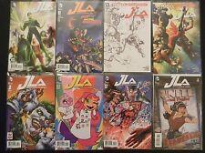 DC Comics JLA 1 joker 2 2 TT Go 3 Bomb 4 GL 5 6 Harley Queen  7 Coloring Variant