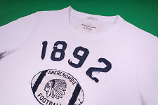 Abercrombie & Fitch Hombre t-shirt indios motivo blanco talla s