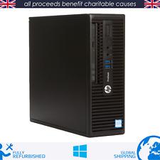 HP ProDesk 400 G3 SFF - Intel Core i5 6th Gen - 8GB RAM - 128GB SSD - Windows 10