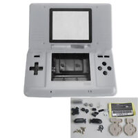 Para NDS Games DS Game Console Housing Shell Case Cover + Buttons Replace Set