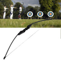 "54"" 30/40lbs Archery Hunting Bow Shooting Compound Practice Longbow Takedown U"