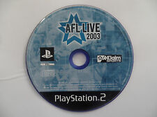 AFL LIVE 2003 PlayStation 2 / PS2 - DISC ONLY
