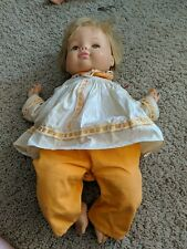 """Vintage 1967 Horsman Baby Doll Vinyl & Cloth Baby Tweaks 19"""""""