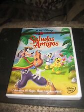 Walt Disney's Saludos Amigos (DVD, 2000) Gold Collection LN Mint RARE OOP insert