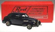 Brooklin Models ROD 06, 1939 LaSalle 2-Door Sedan, Deep Purple, Custom Car, 1/43