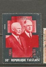 Togo Charles de Gaulle & Eisenhower  Stamps Briefmarken Sellos Timbres