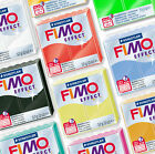 FIMO EFFECT 57G MODELLING CLAY - CHOOSE FROM 30 DIFFERENT TYPES <br/> BUY 5, GET 1 FREE (add 6 to basket), UK STOCK & SELLER